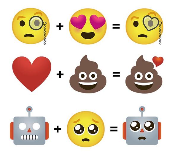 Funkcionalita Emoji Mash-Up
