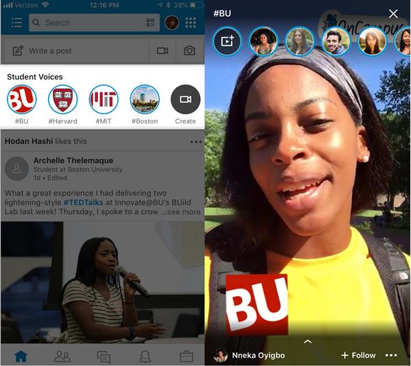 Testovenie Linked Stories na UCLA v USA - Student Voices